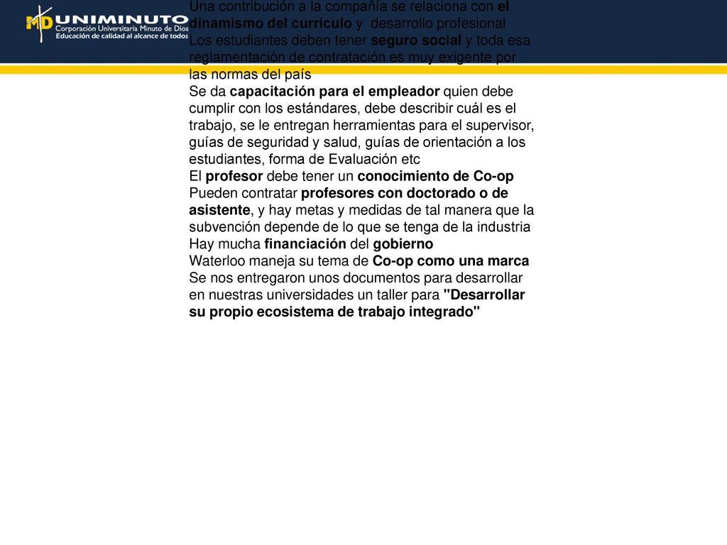 Documento sobre la misión académica de Uniminuto en universidades de ...