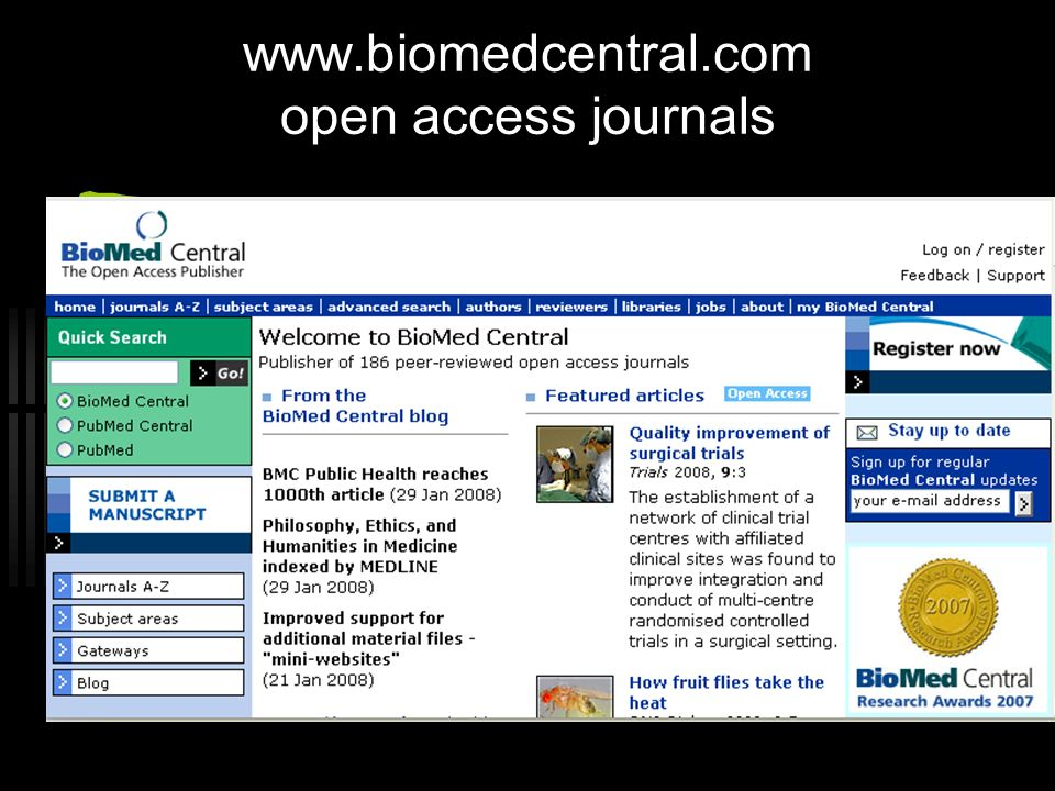 www.biomedcentral.com open access journals