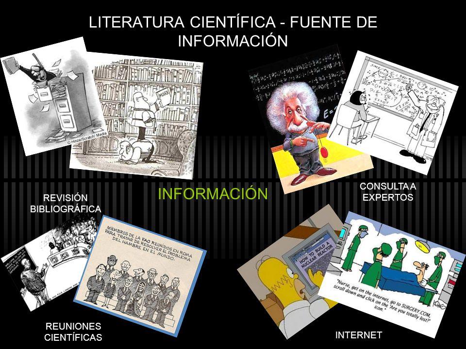 LITERATURA CIENTÍFICA - FUENTE DE INFORMACIÓN