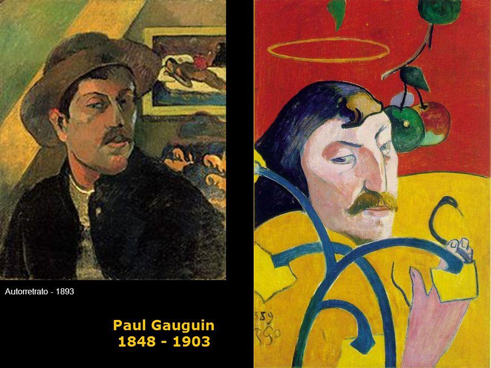 Autorretrato - 1893 Paul Gauguin 1848 - 1903