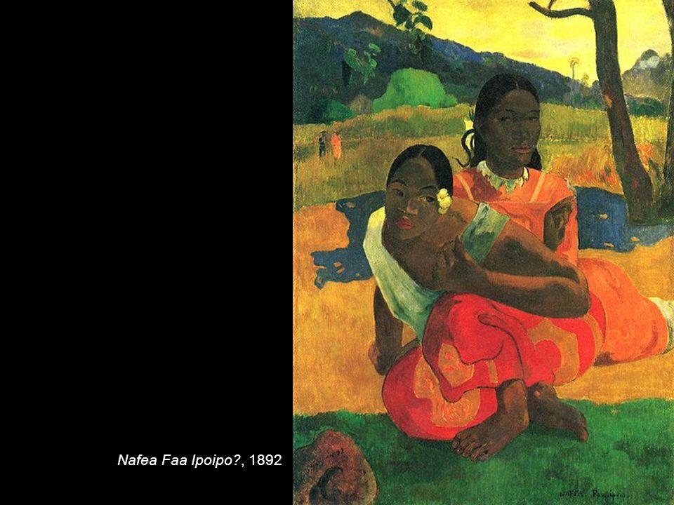 Nafea Faa Ipoipo , 1892