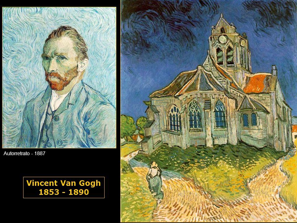Autorretrato - 1887 Vincent Van Gogh 1853 - 1890