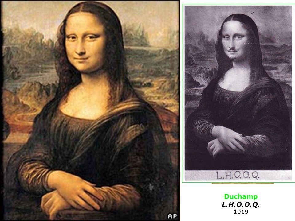 1512 Duchamp L.H.O.O.Q. 1919