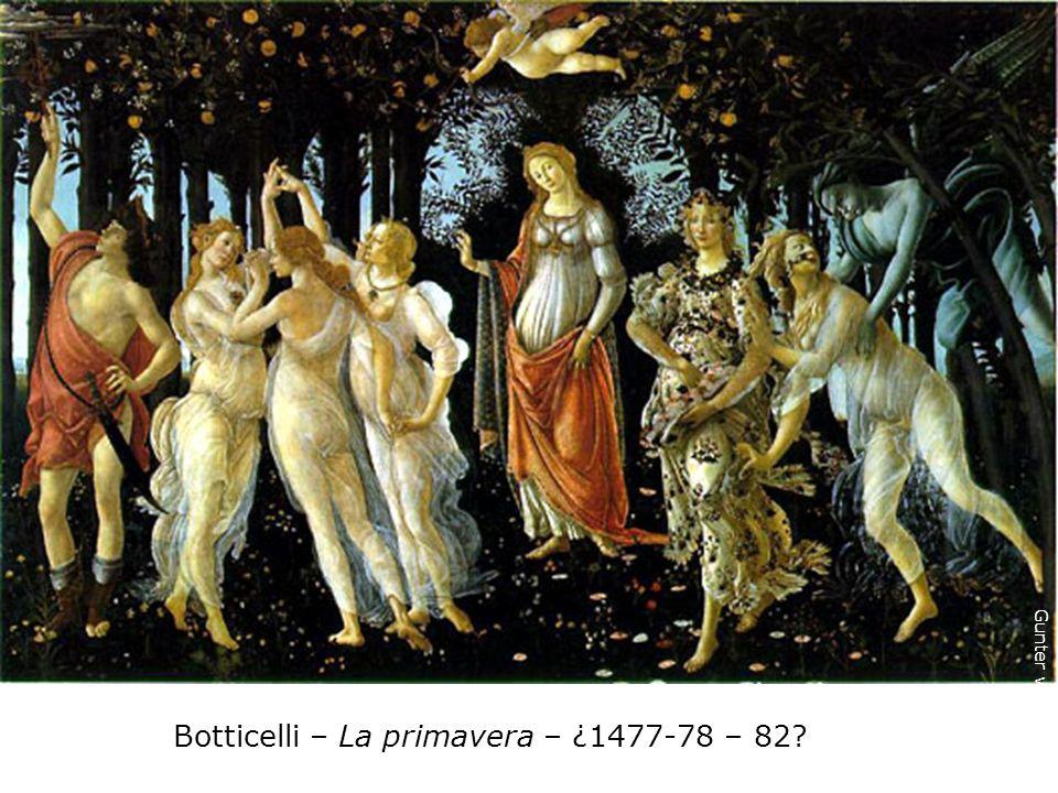 Botticelli – La primavera – ¿1477-78 – 82
