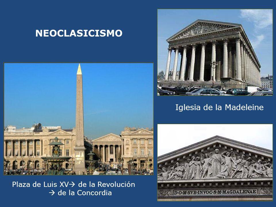 NEOCLASICISMO Iglesia de la Madeleine