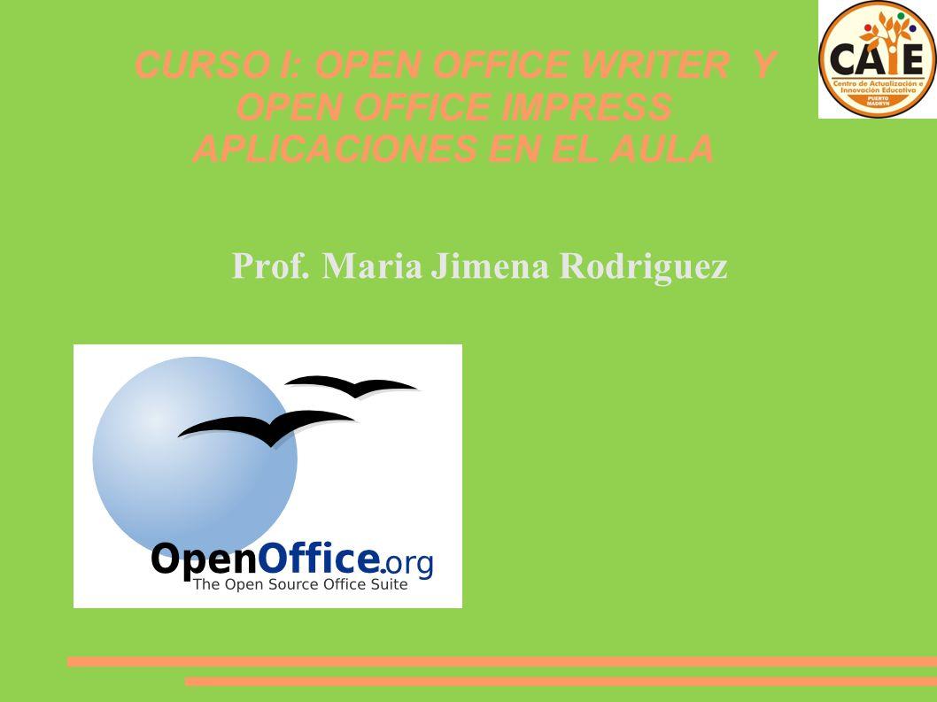 Prof. Maria Jimena Rodriguez
