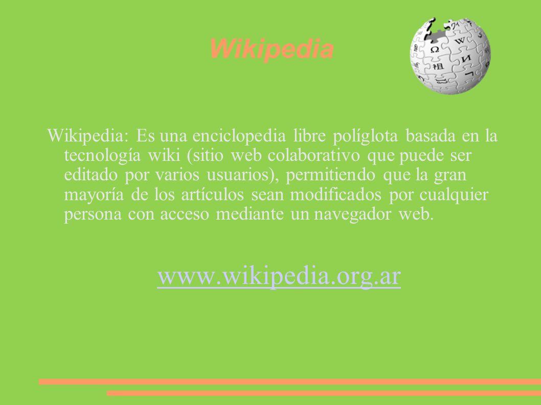 Wikipedia www.wikipedia.org.ar