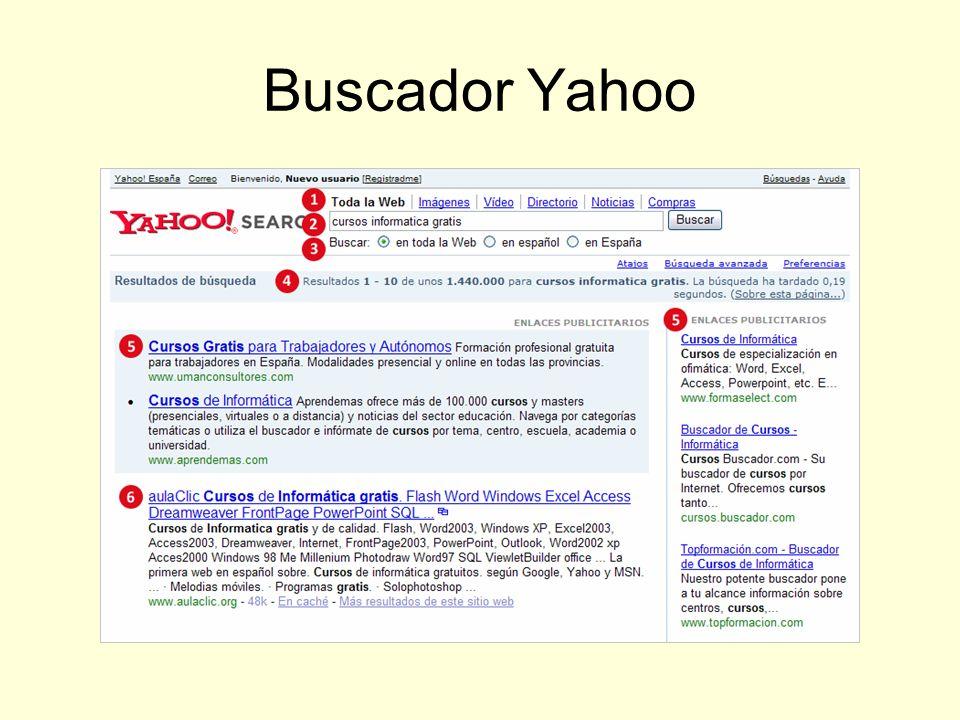 Buscador Yahoo