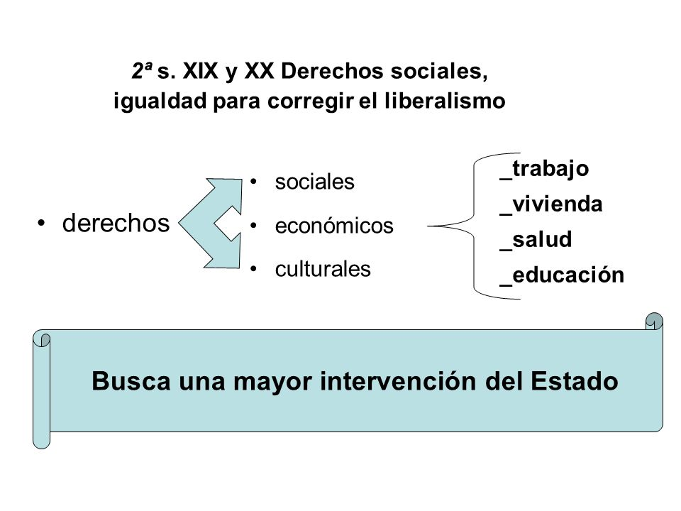 Busca una mayor intervención del Estado