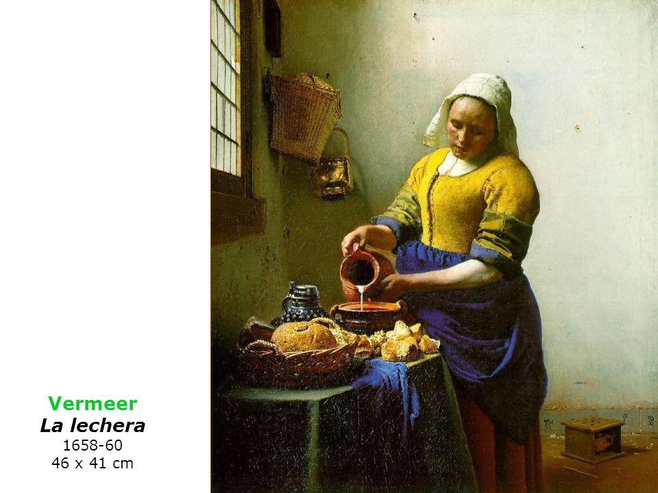 Vermeer La lechera 1658-60 46 x 41 cm