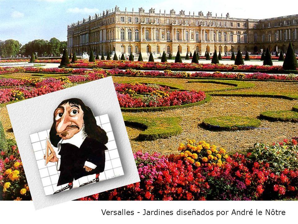 Versalles - Jardines diseñados por André le Nôtre