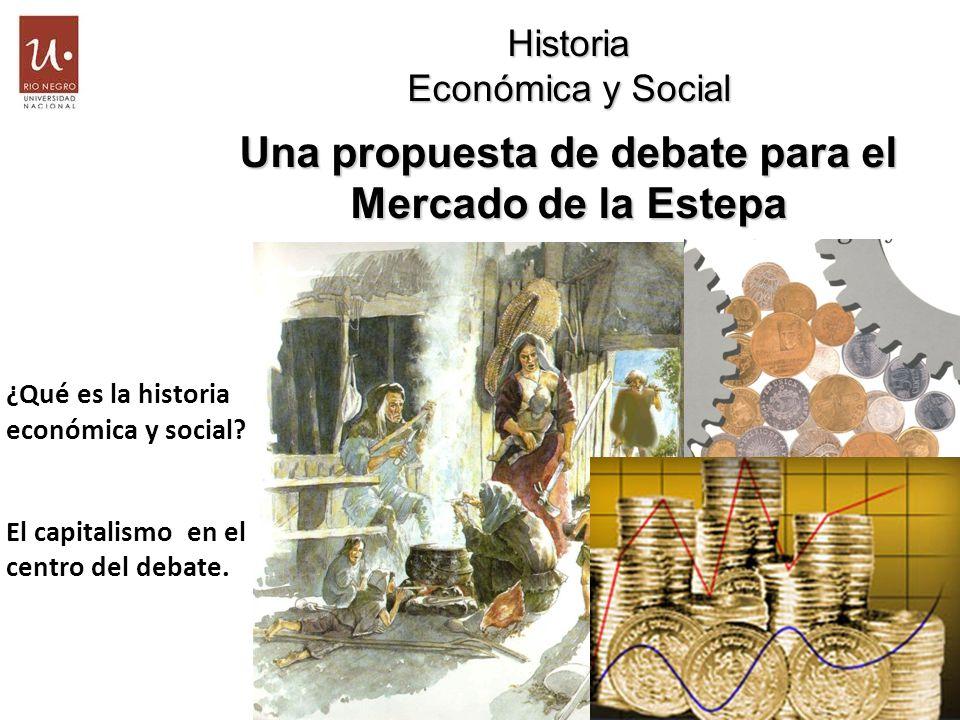 Una propuesta de debate para el Mercado de la Estepa