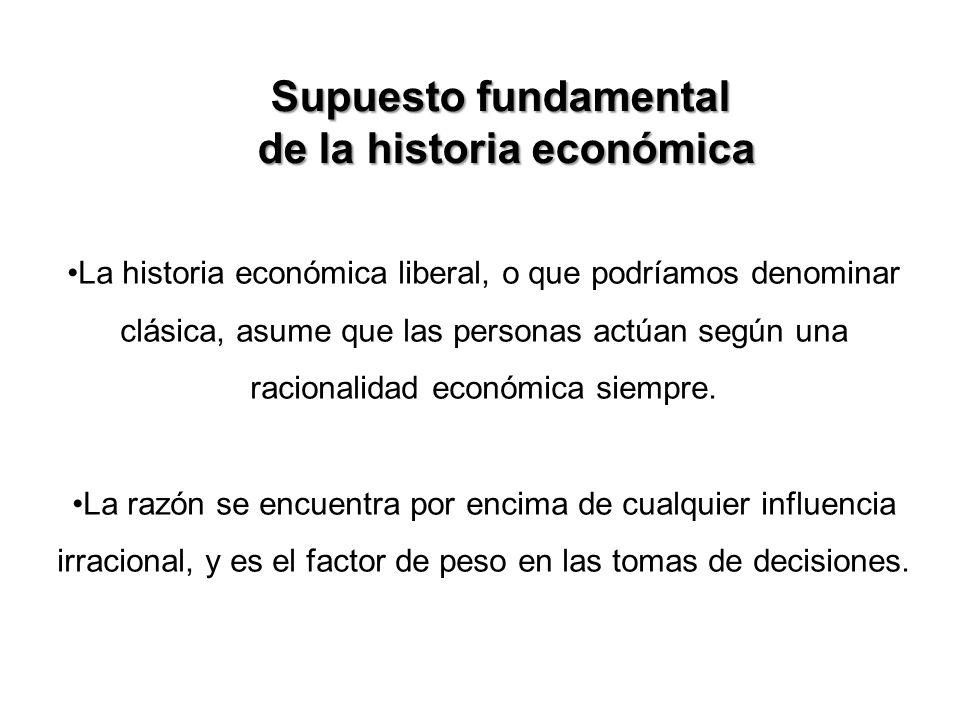 de la historia económica