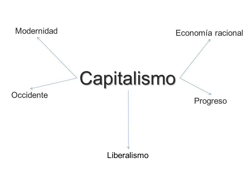 Capitalismo Modernidad Economía racional Occidente Progreso