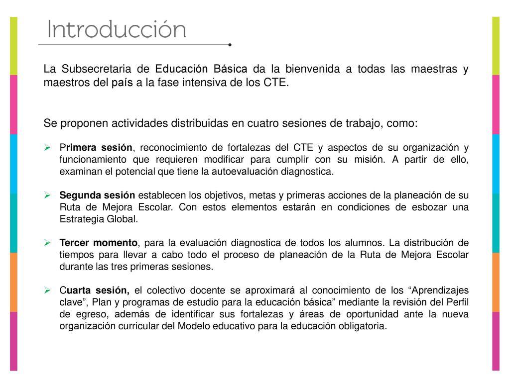 EDUCACIÓN PREESCOLAR FASE INTENSIVA CICLO ESCOLAR 2017 – 2018 Zona ...