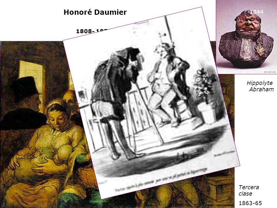 Honoré Daumier 1844 1808- 1879) Hippolyte Abraham Tercera clase