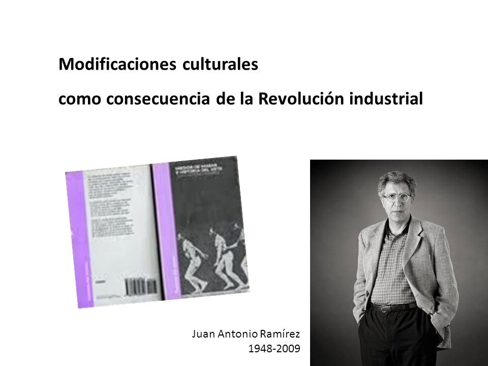 Modificaciones culturales