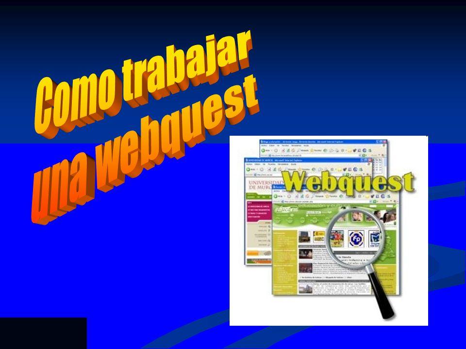 Como trabajar una webquest Rubén Prieto