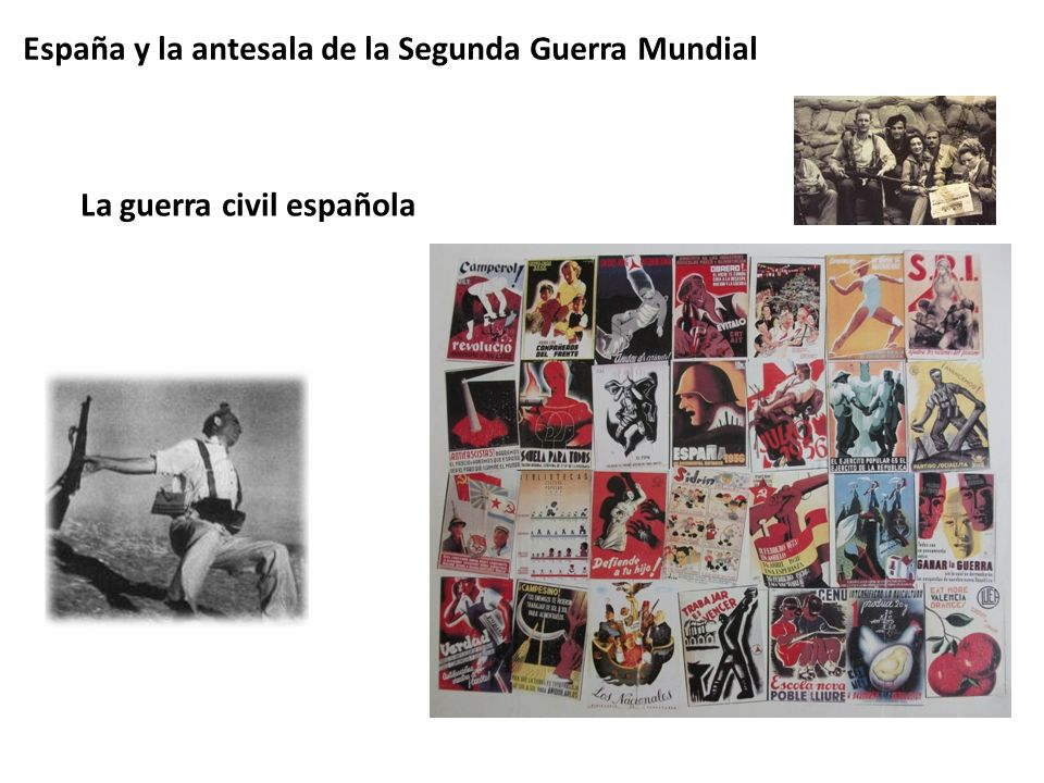 España y la antesala de la Segunda Guerra Mundial
