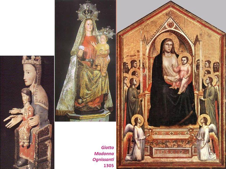 Giotto Madonna Ognissanti 1305