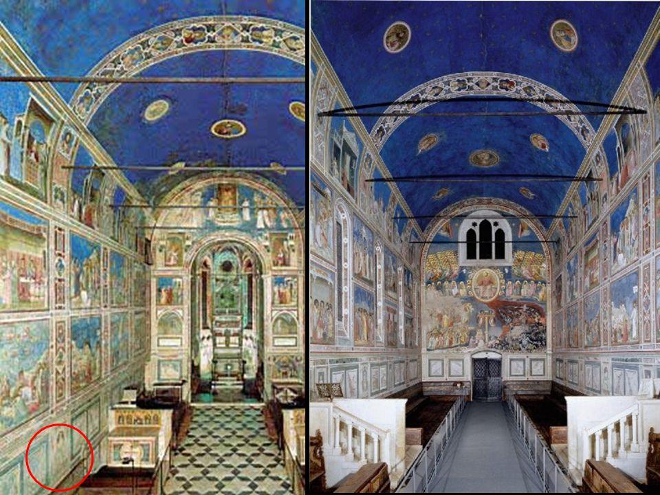 Capilla Scrovegni Padua 1305-6 20,8 x 12,8 m