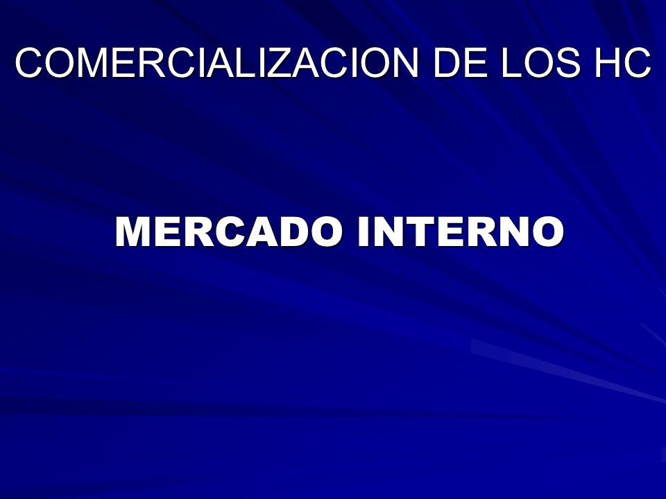 COMERCIALIZACION DE LOS HC