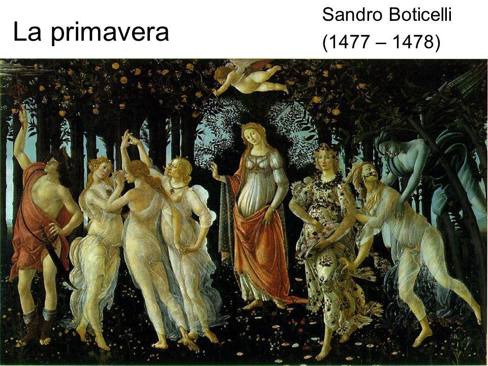 La primavera Sandro Boticelli (1477 – 1478)