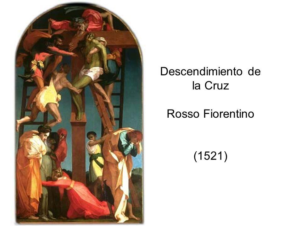 Descendimiento de la Cruz Rosso Fiorentino (1521)