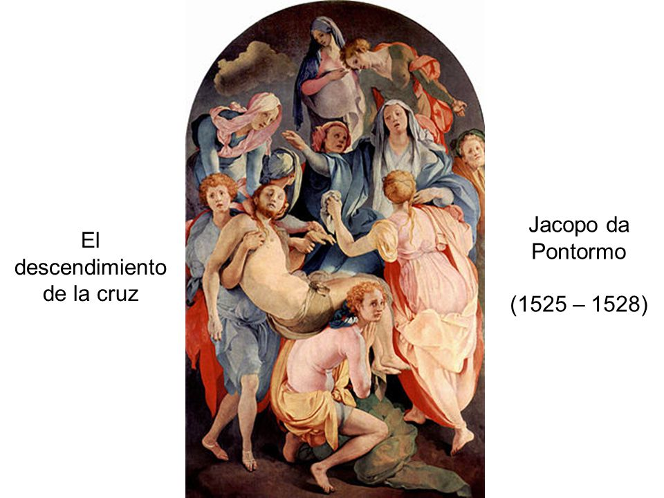 El descendimiento de la cruz