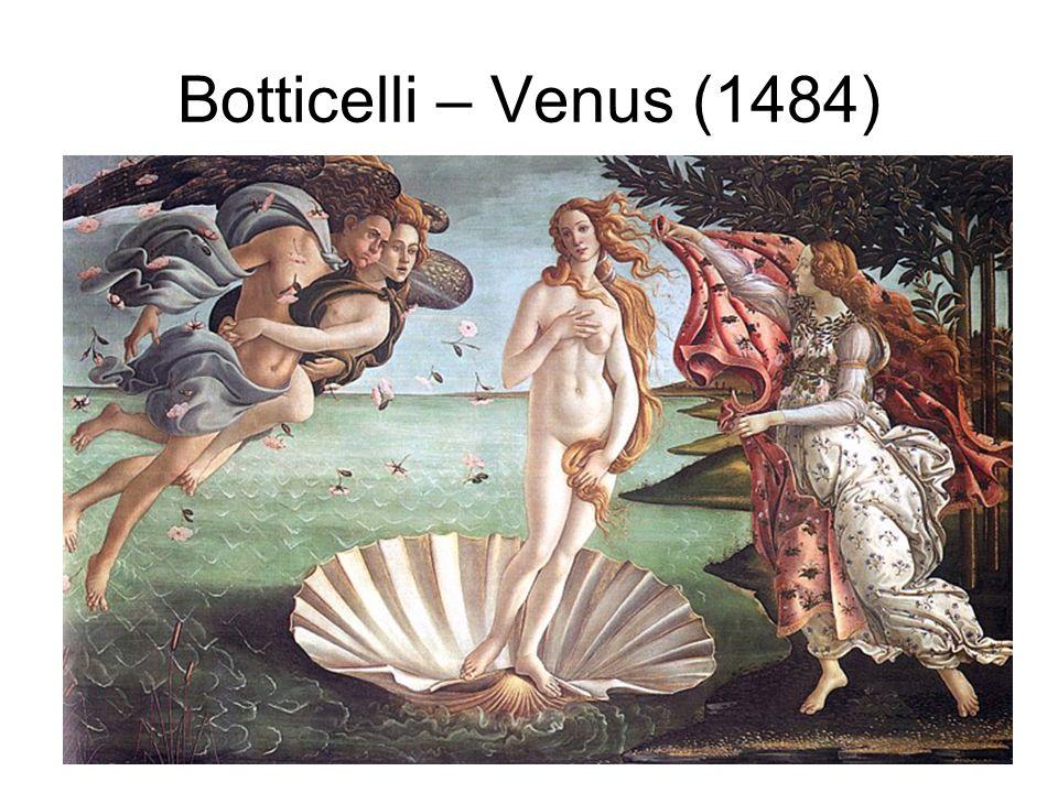 Botticelli – Venus (1484)