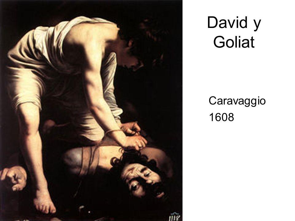 David y Goliat Caravaggio 1608