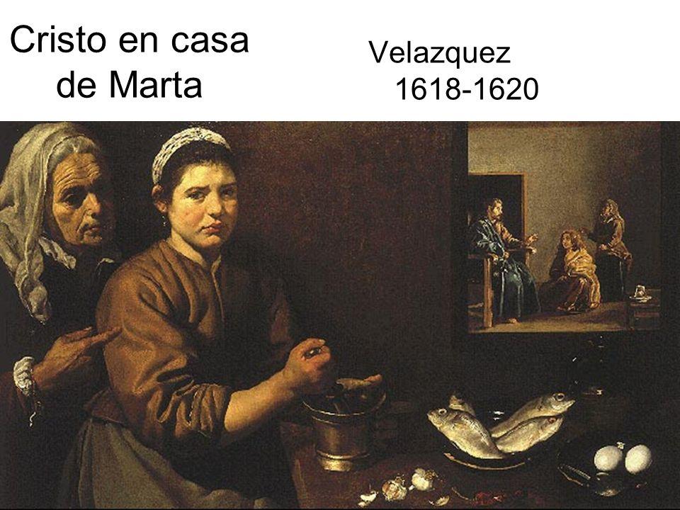Cristo en casa de Marta Velazquez 1618-1620