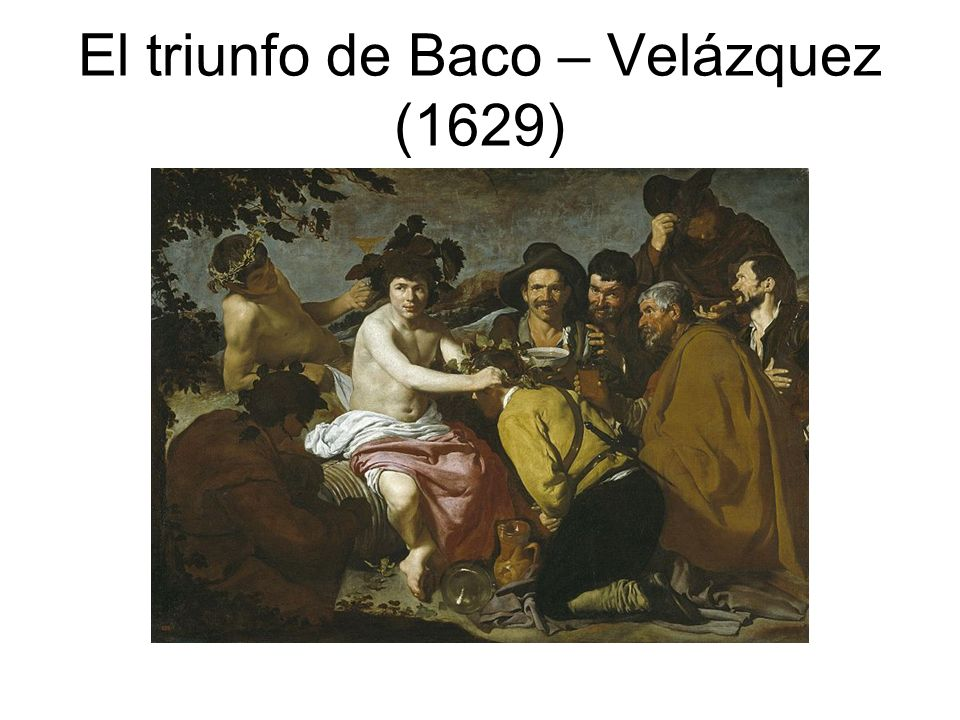 El triunfo de Baco – Velázquez (1629)