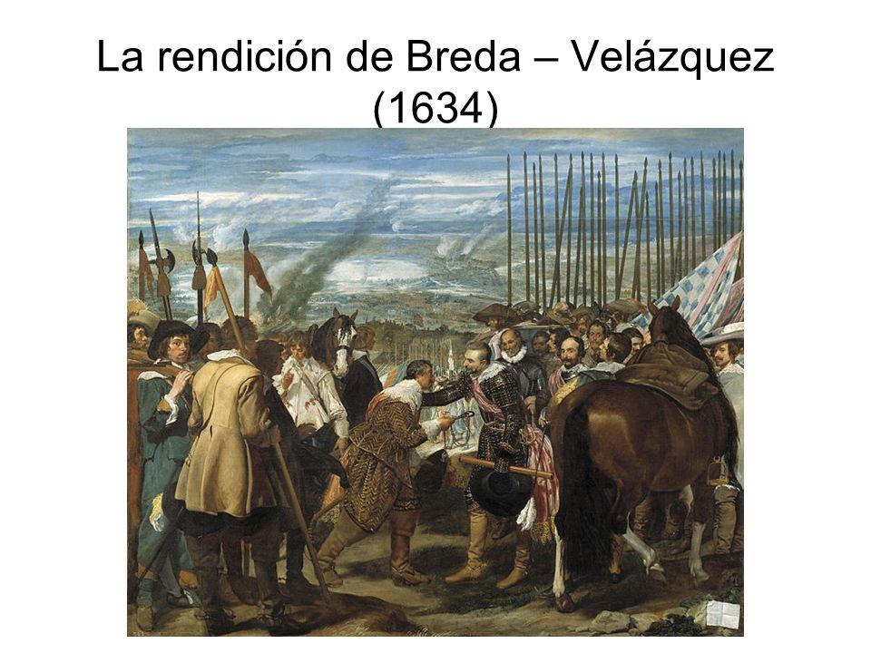 La rendición de Breda – Velázquez (1634)