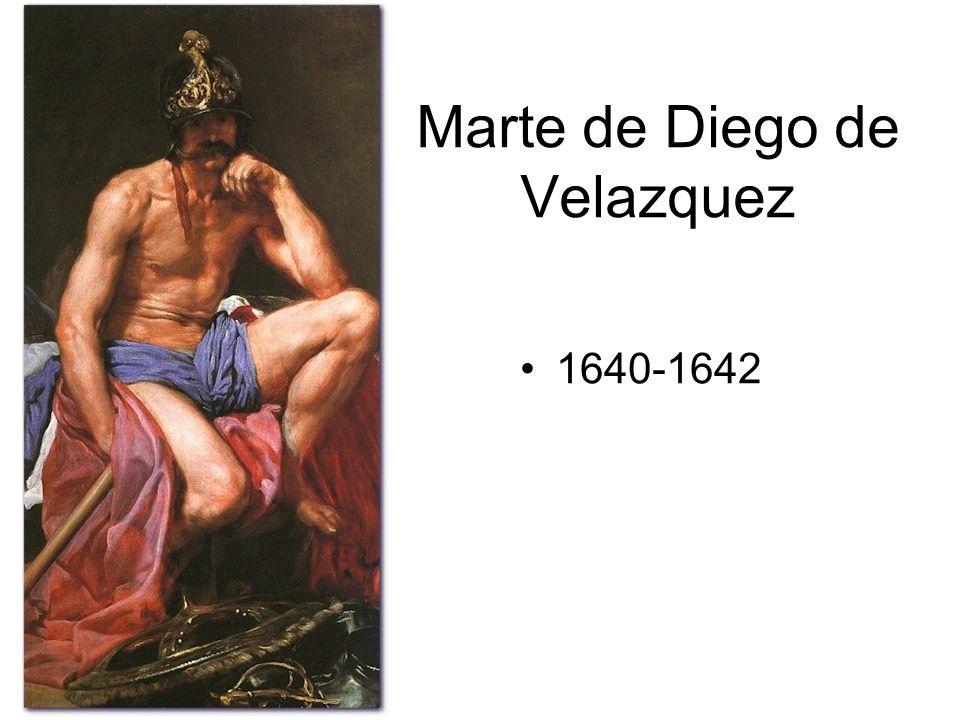 Marte de Diego de Velazquez