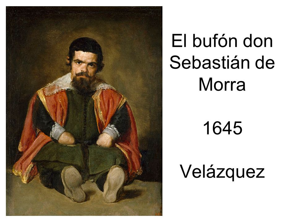 El bufón don Sebastián de Morra 1645 Velázquez
