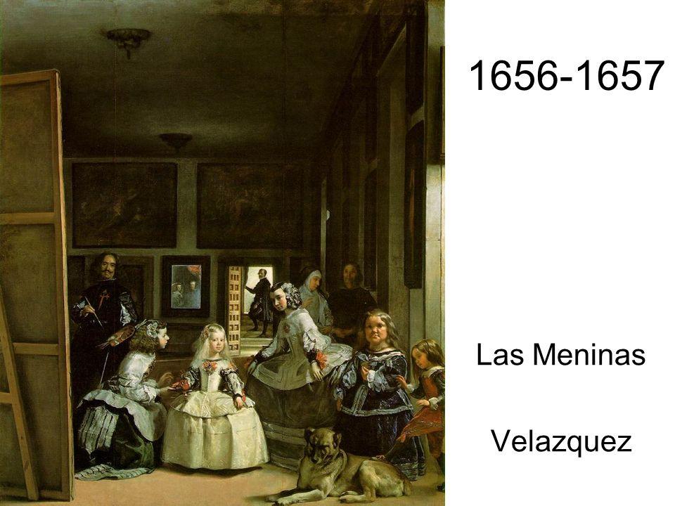 1656-1657 Las Meninas Velazquez