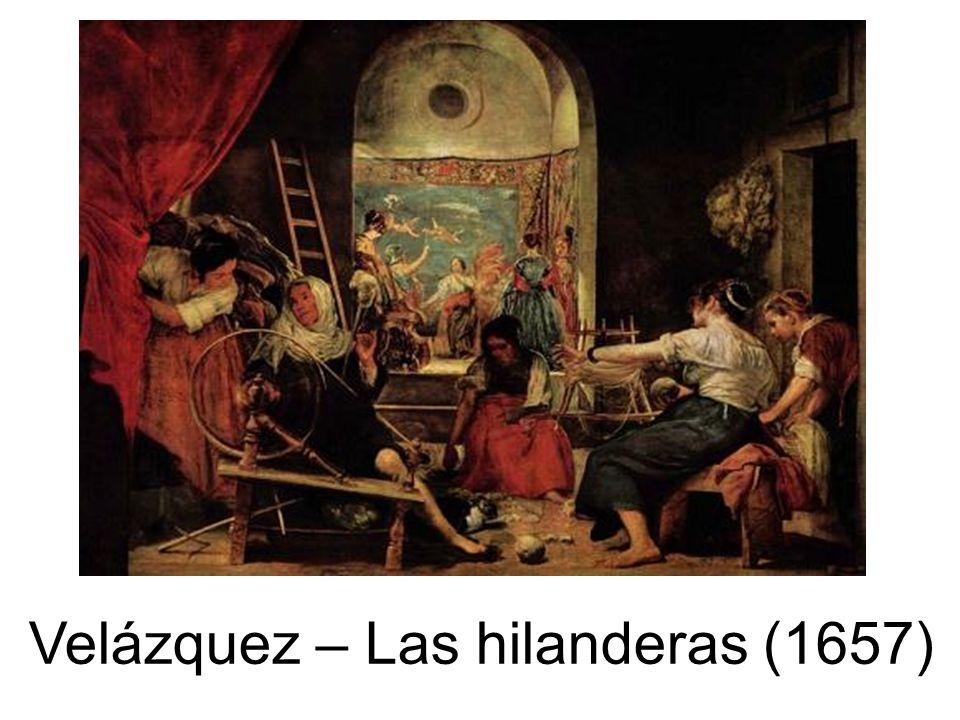 Las Hilanderas Velazquez 1657