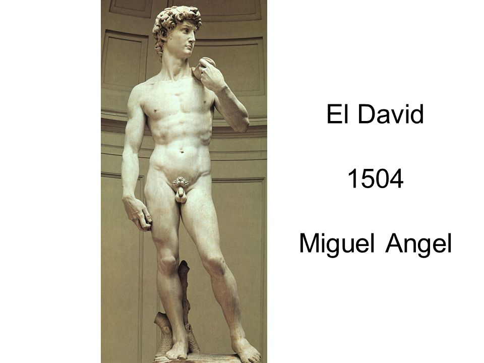 El David 1504 Miguel Angel