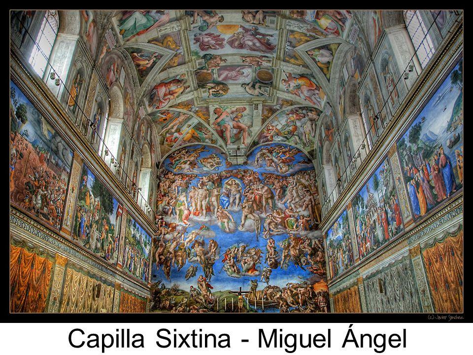 Capilla Sixtina - Miguel Ángel