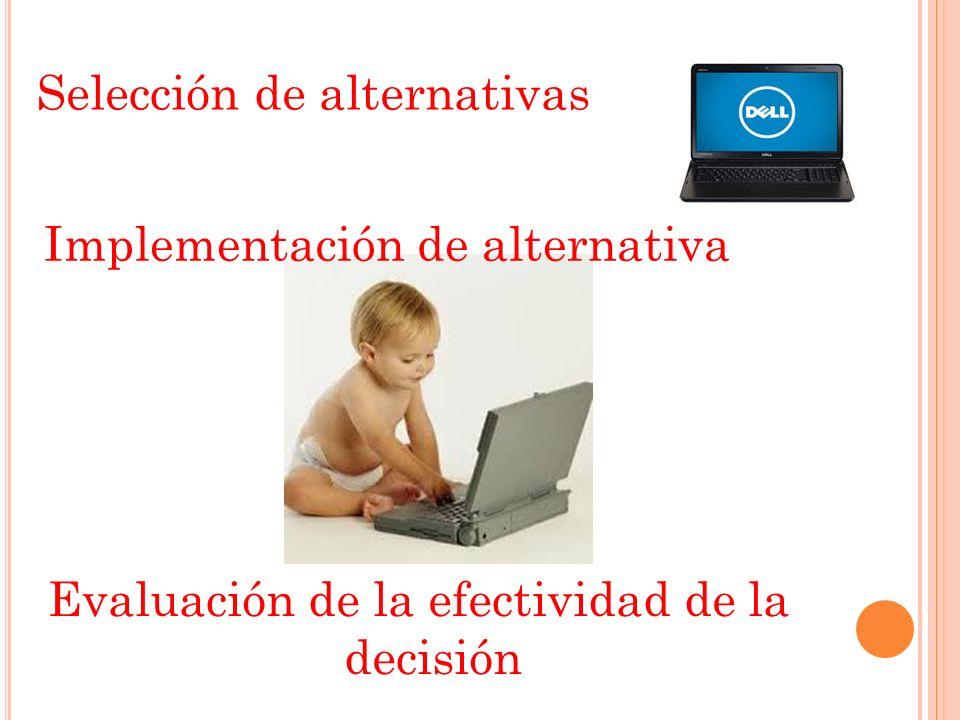 Evaluación de la efectividad de la decisión