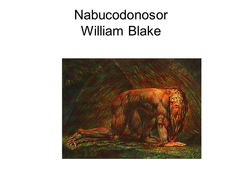 Nabucodonosor William Blake