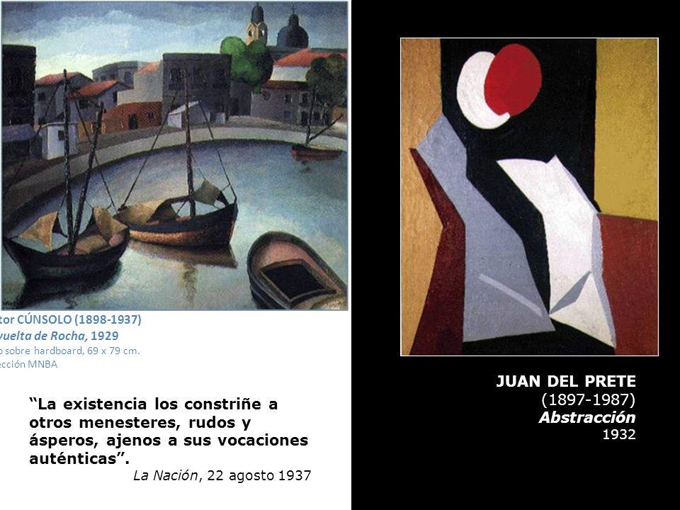 JUAN DEL PRETE (1897-1987) Abstracción