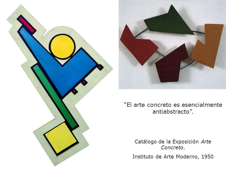 El arte concreto es esencialmente antiabstracto .