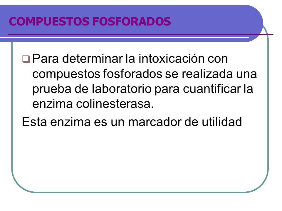 COMPUESTOS FOSFORADOS