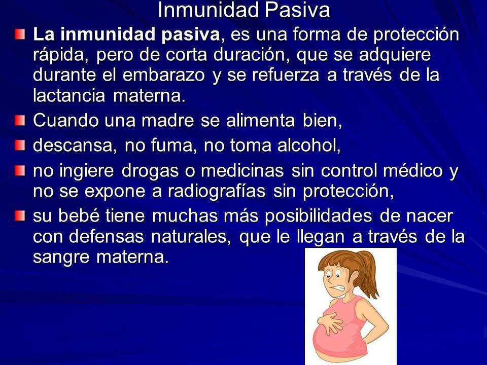 Inmunidad Pasiva