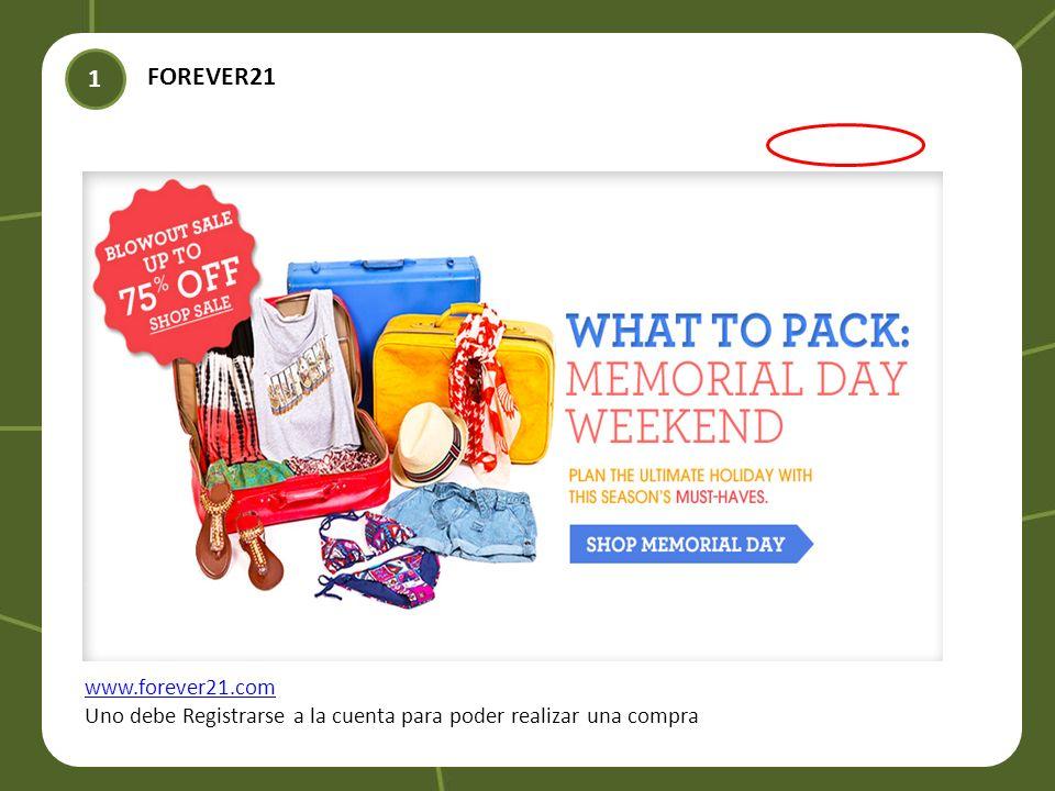 1 FOREVER21 www.forever21.com