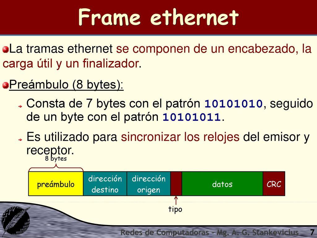 Dorable Encabezado De La Trama Ethernet Colección - Ideas ...