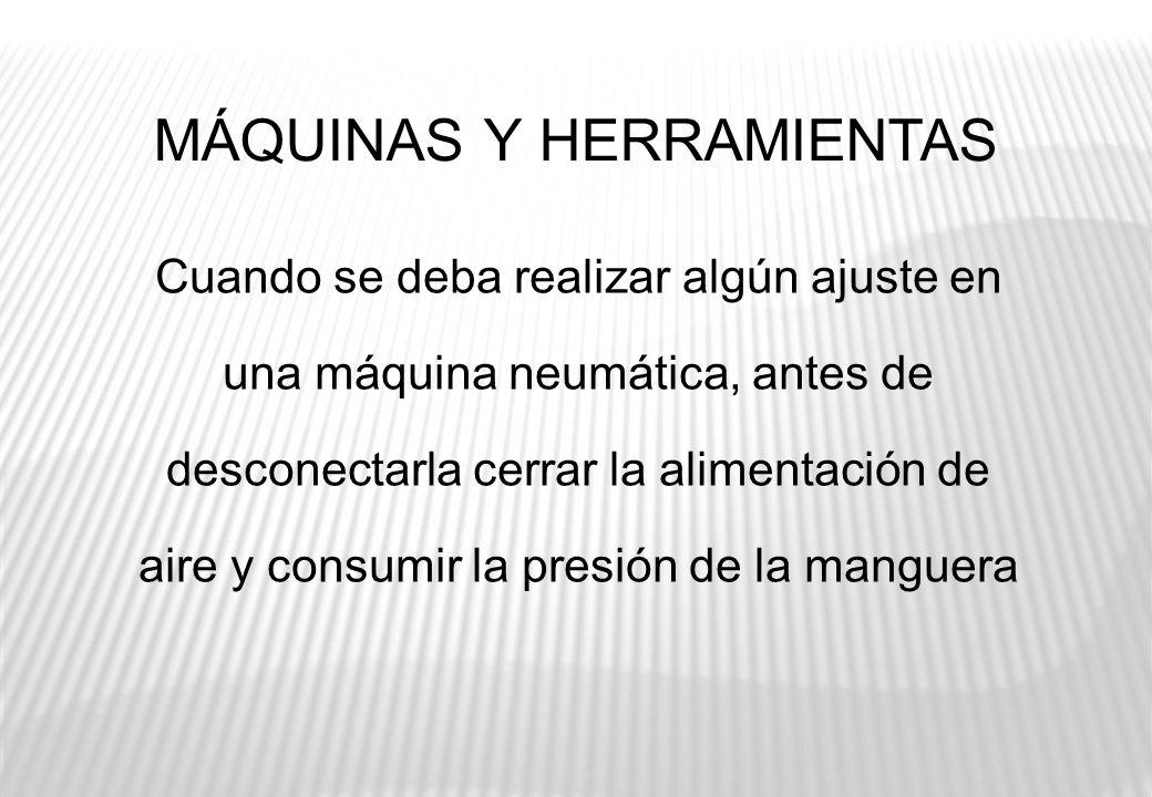 MÁQUINAS Y HERRAMIENTAS