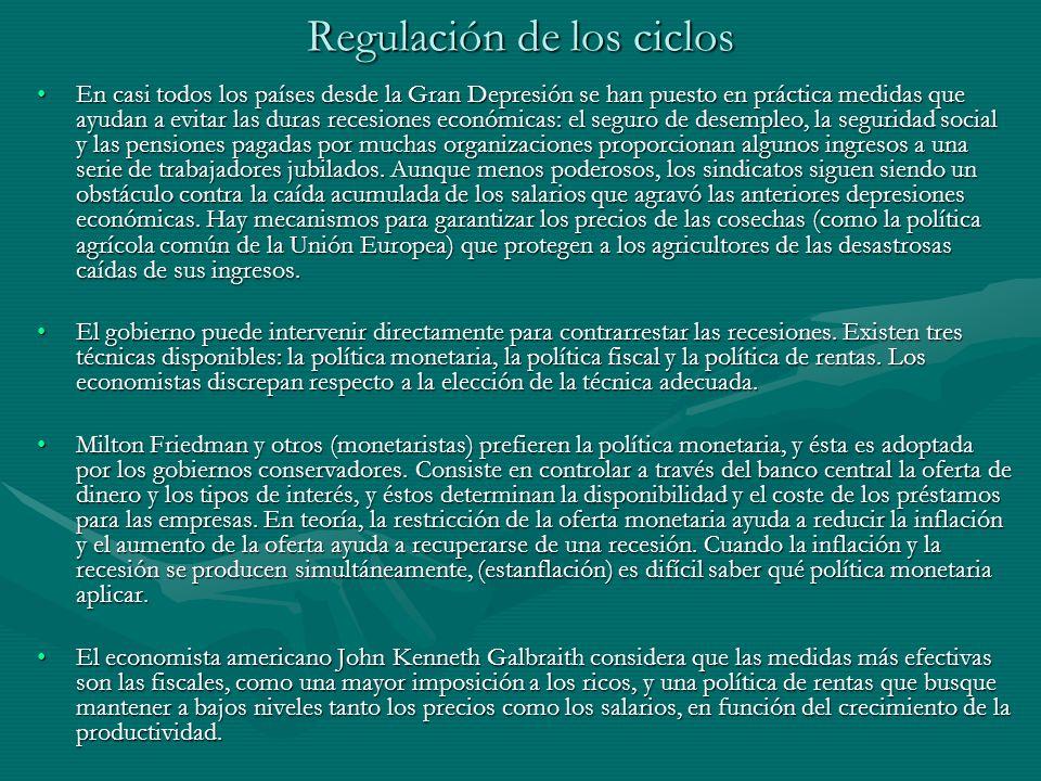 Regulación de los ciclos